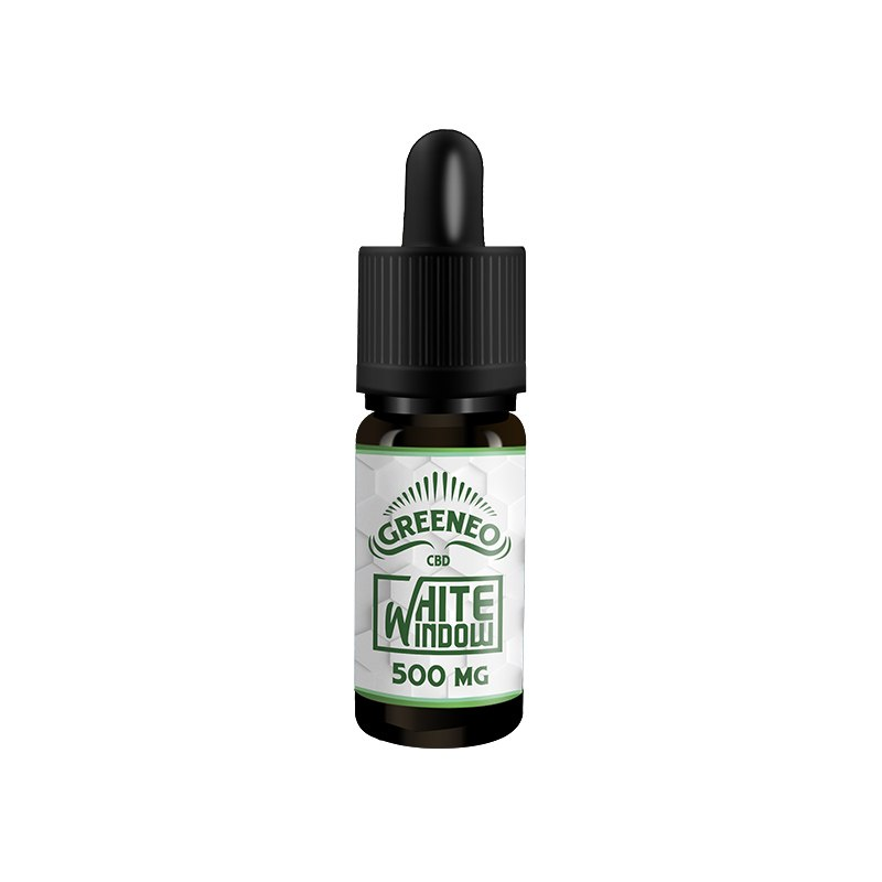 E-Liquide CBD Greeneo White Window | Green Doctor
