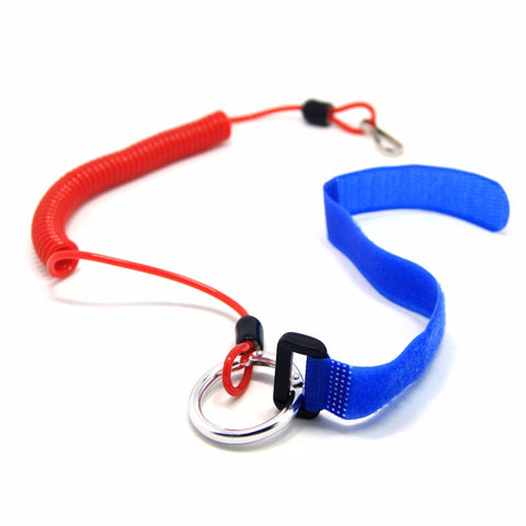 Elastic Coiled Paddle Leash (2 pack)