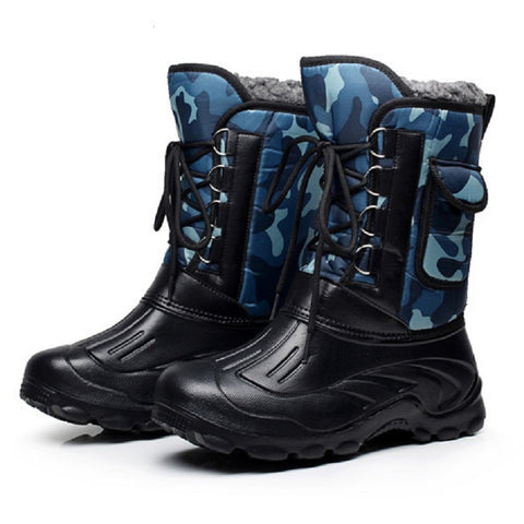 Men's Military Snow Boots