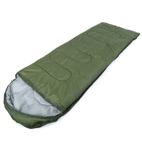 Envelope Hooded Sleeping Bag