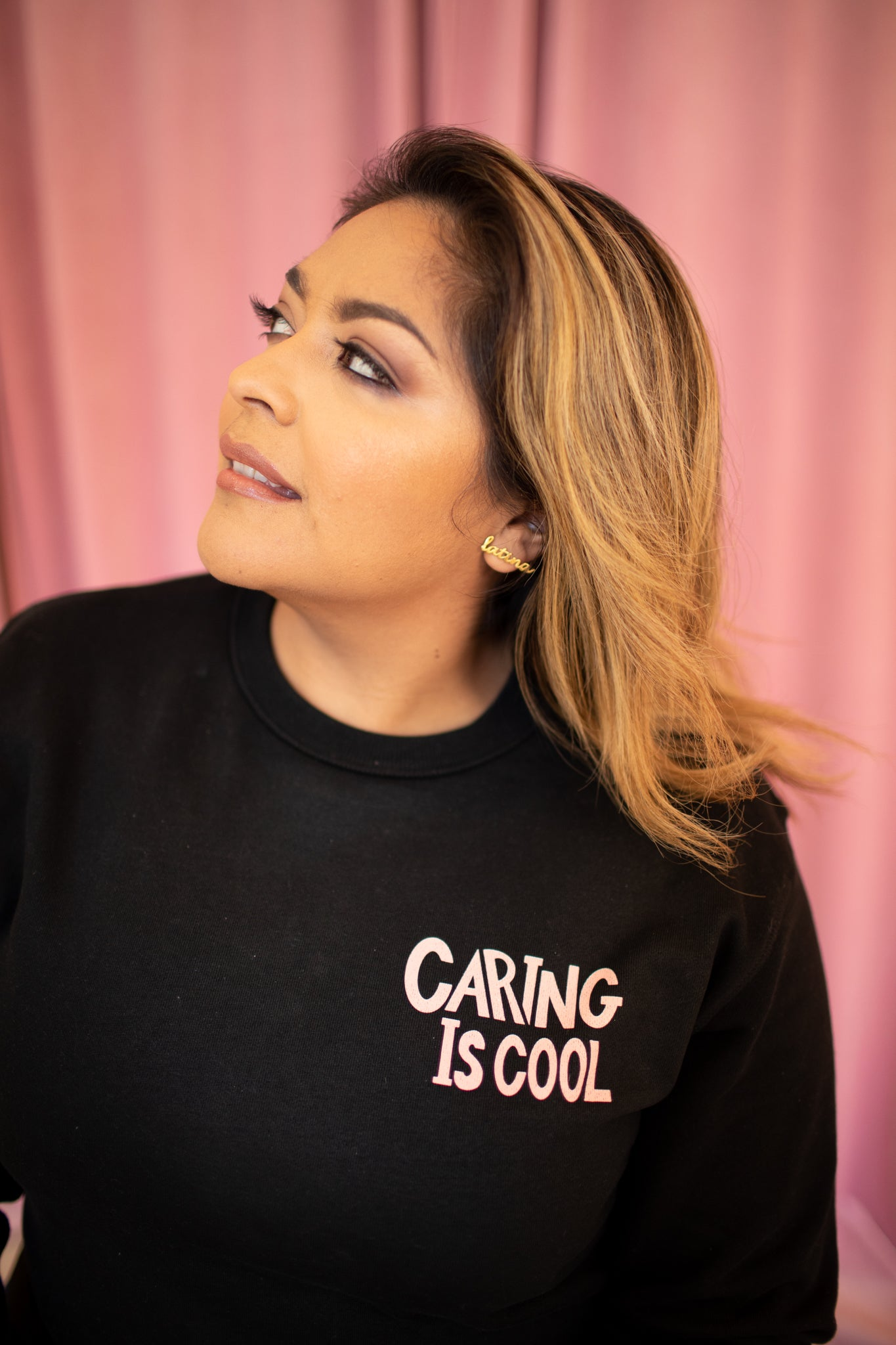 Caring Is Cool/ I'm With Them Sweatshirt