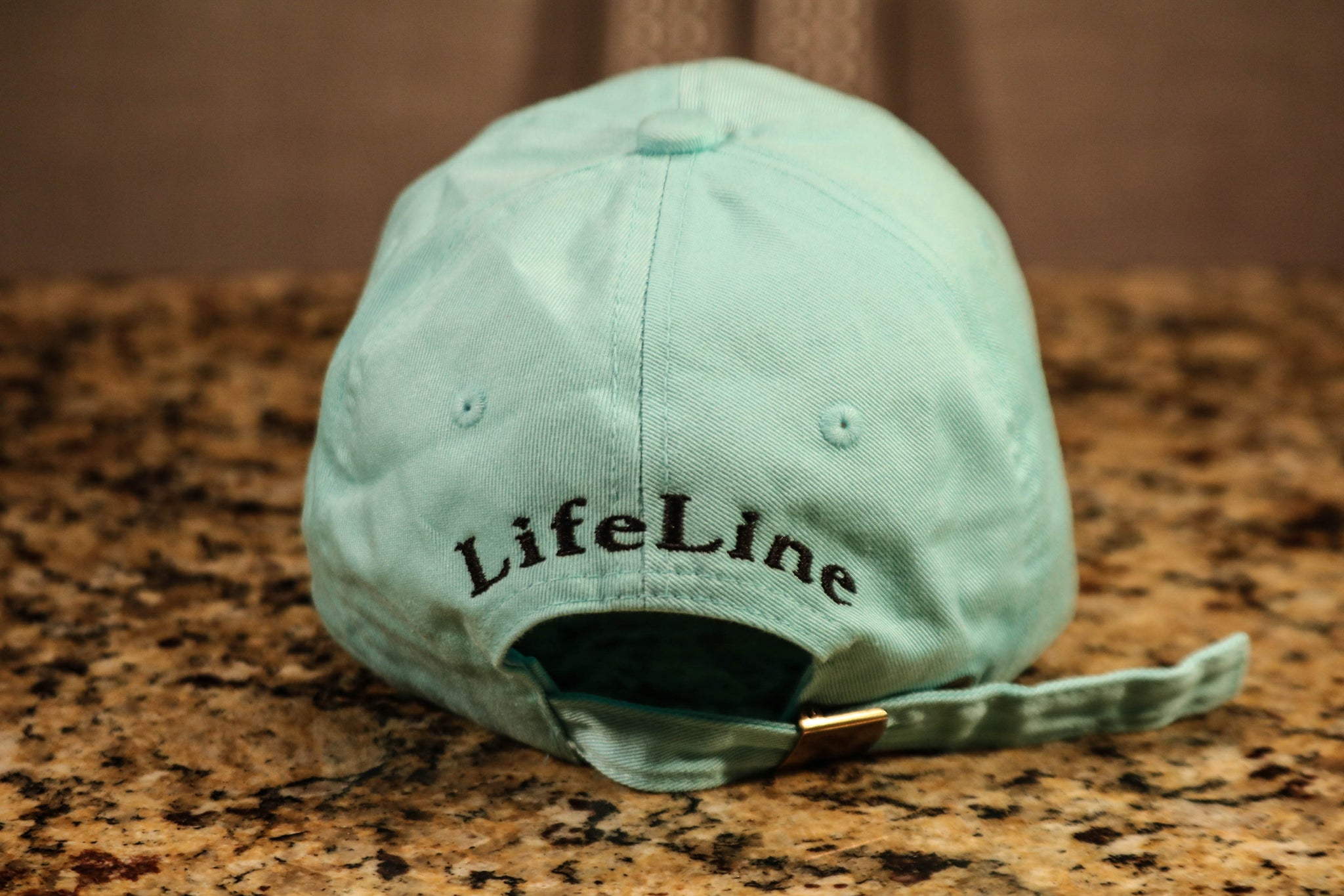 Mint Dad Hat w/ Traditional Logo