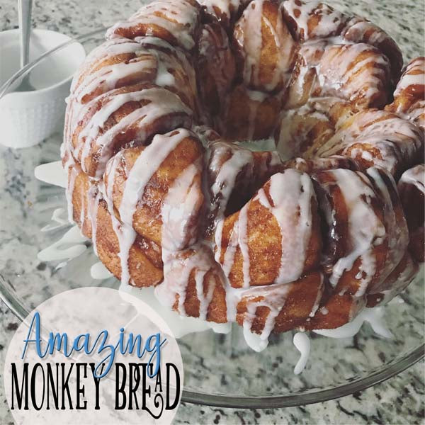 The MOST AMAZING Monkey Bread Recipe...and...FIRST BLOG POST!!!!!!!!