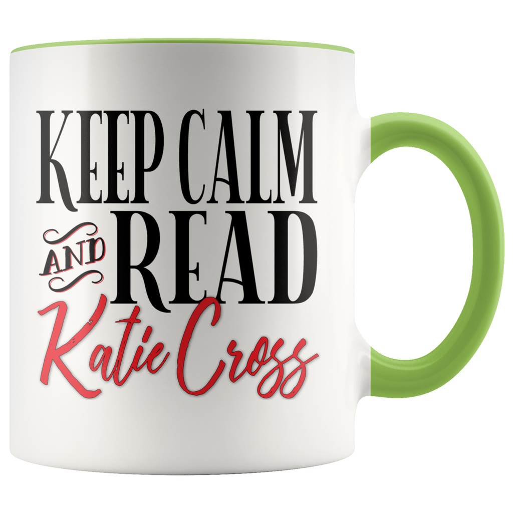 Author Katie Cross - Keep Calm & Read Katie Cross Mug