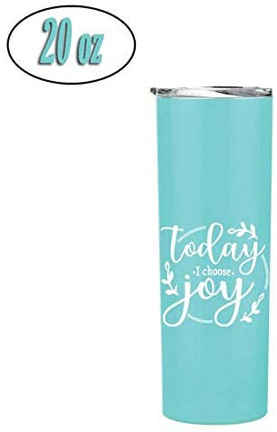 Fun, Unique, Custom Designed Stainless Steel Vacuum Powder Coated Insulated Tumbler - Great Gift for Christian Women for Church, Religious Events