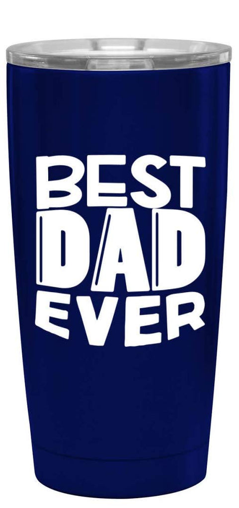 Fun, Unique, Custom Designed Stainless Steel Vacuum Powder Coated Insulated Tumbler - Great Gift for Dad, Father, Men, Papa, Grandpa