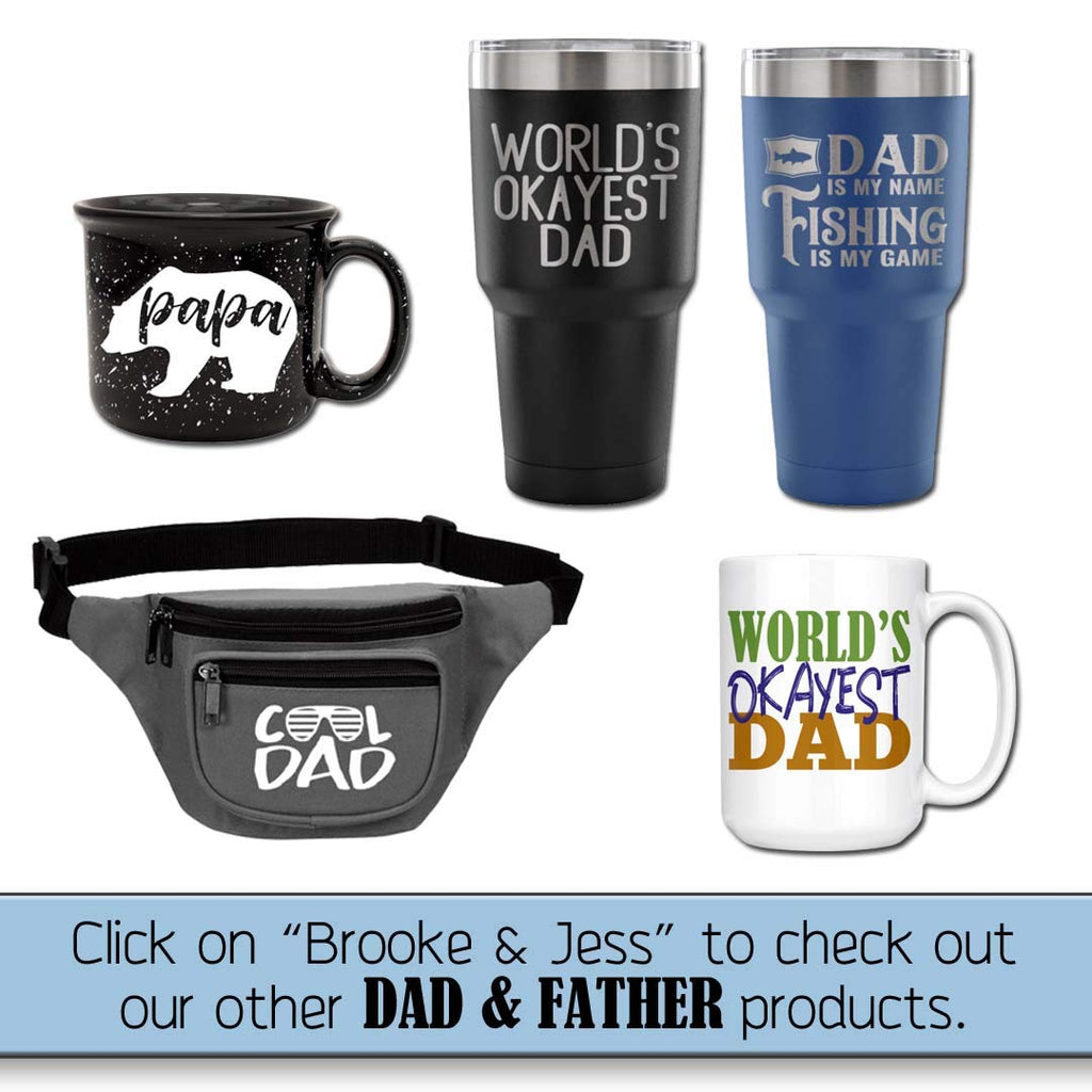 Best Papa Ever Tumbler for Dad - Fun, Unique, Custom Designed Stainless Steel Copper Vacuum Insulated 20 oz Tumbler - Great Gift for Dad, Father, Men, Papa, Grandpa