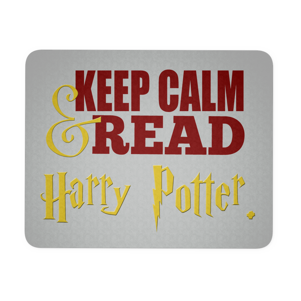 Keep Calm & Read Harry Potter Computer Mousepad