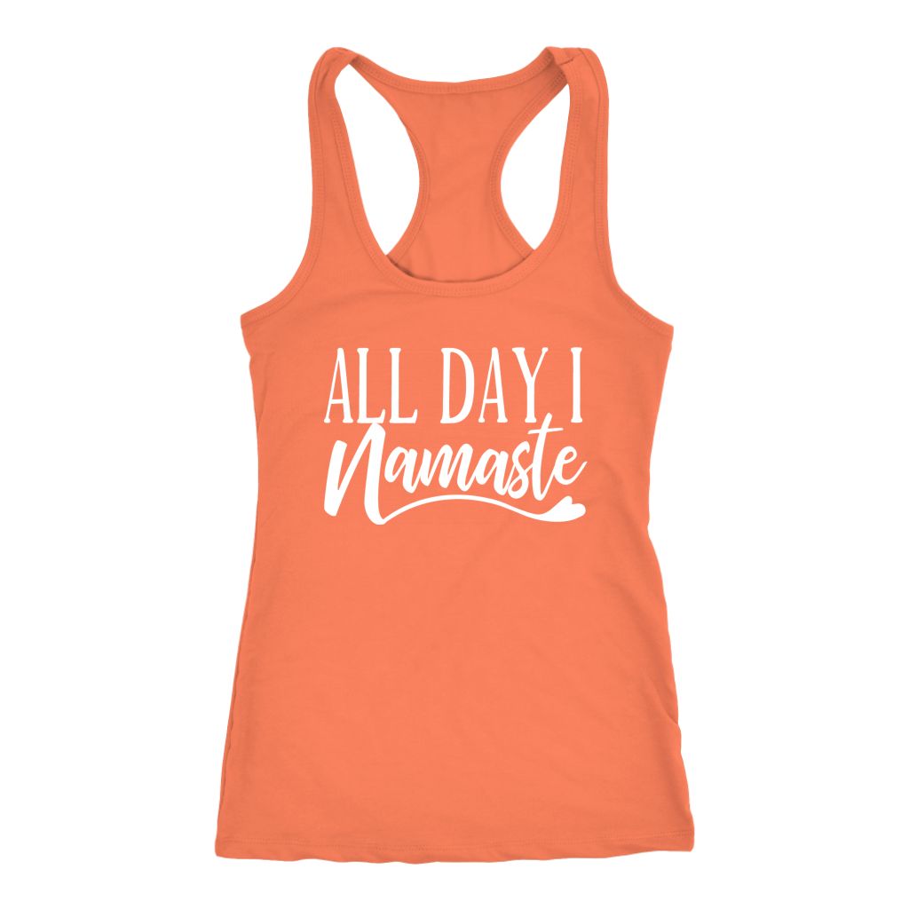 Yoga - All Day I Namaste Tank Top