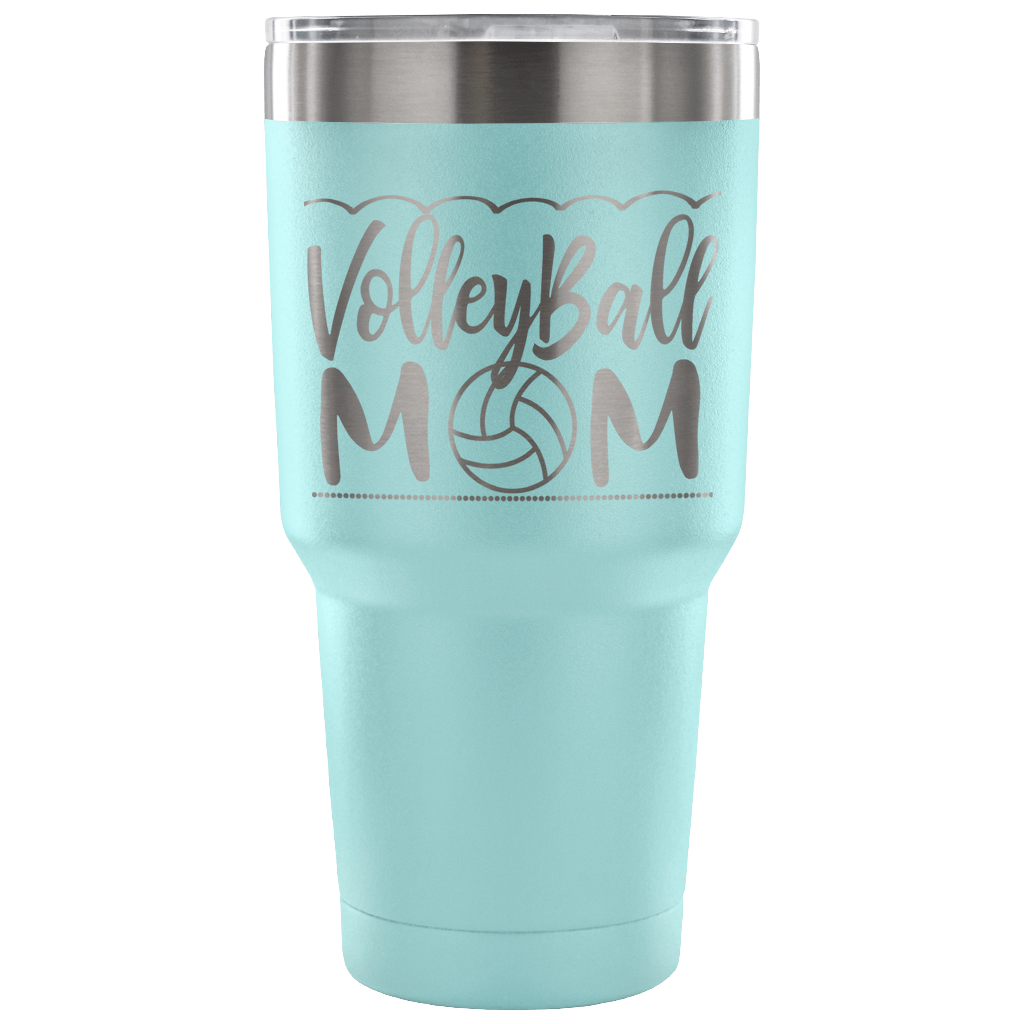 Volleyball Mom - Stainless Steel Vacuum Tumbler - 30 oz