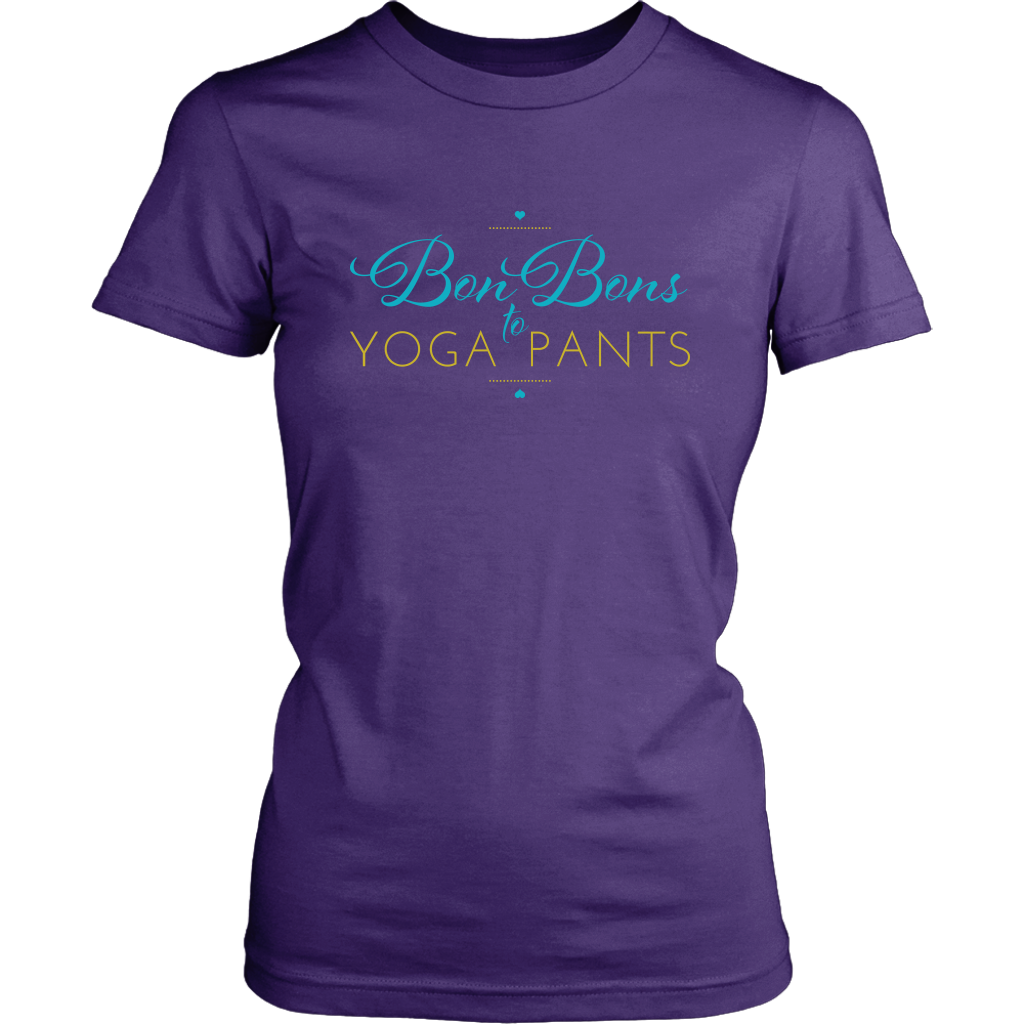 Katie Cross Author - Bon Bons to Yoga Pants Women's Tshirt