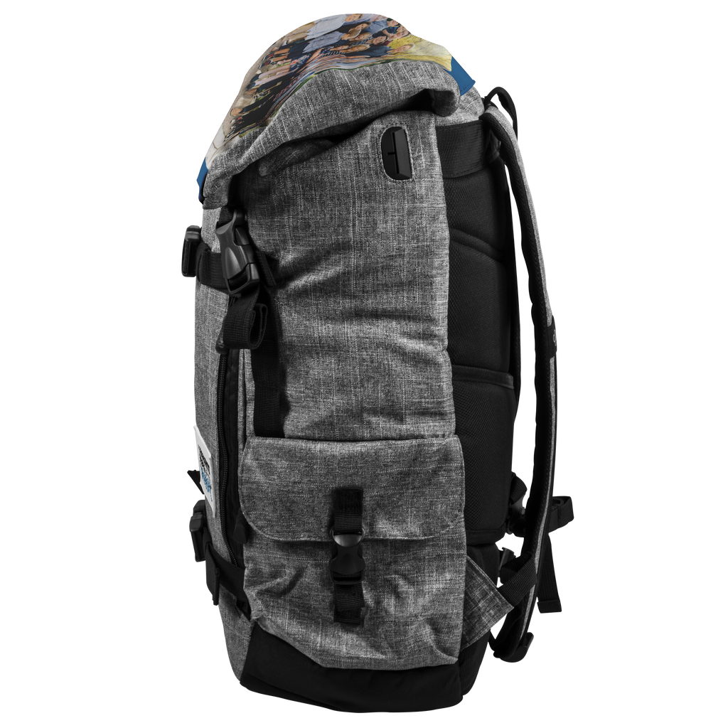 Custom Backpack - Add your own picture and patch design
