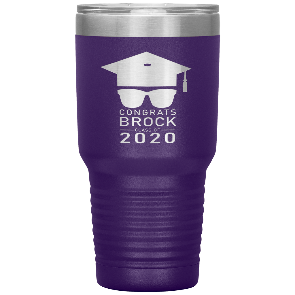 Personalized Graduation Gift - Congrats Sunglasses Graduation Class of 2020