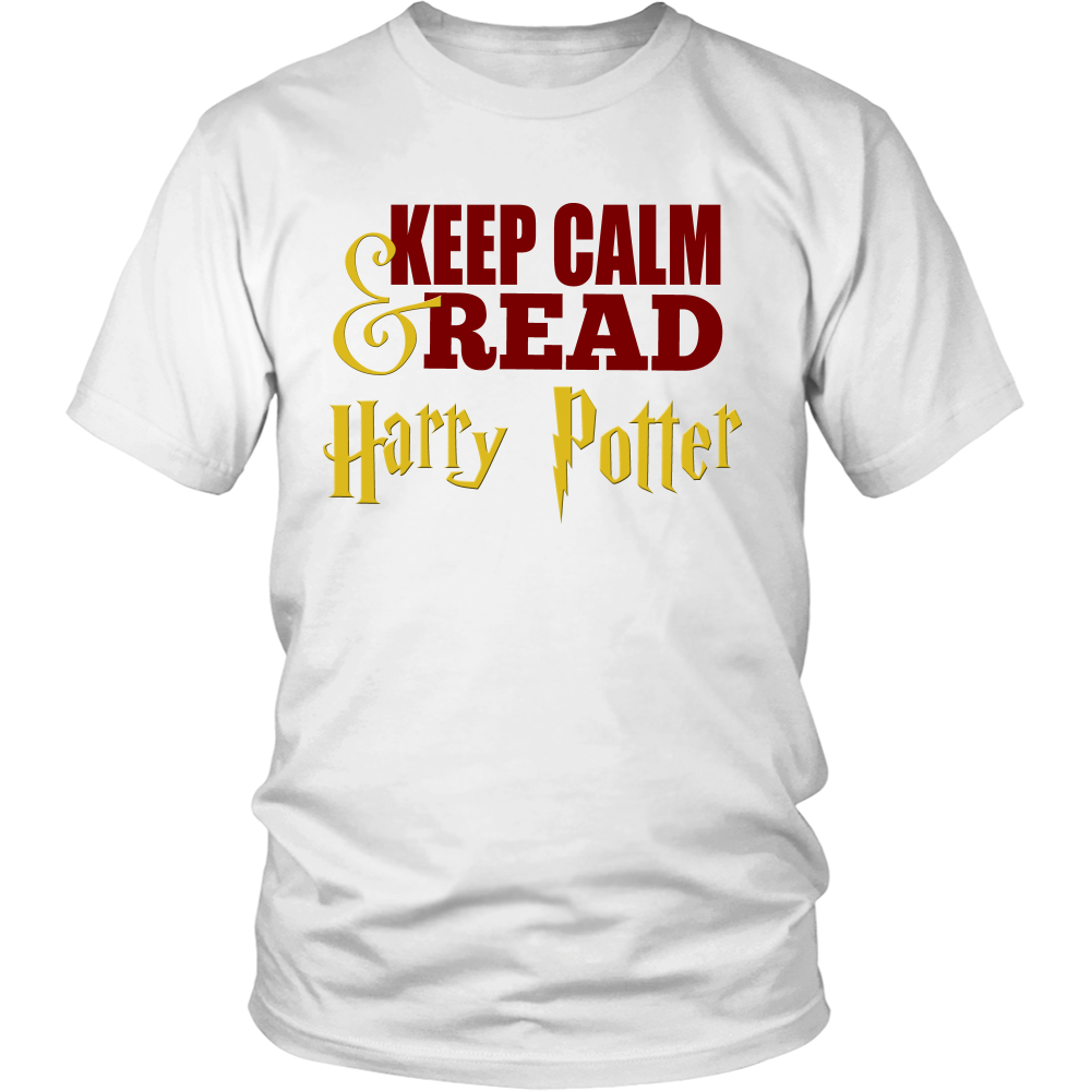 Keep Calm & Read Harry Potter - Harry Potter Inspired T-shirt