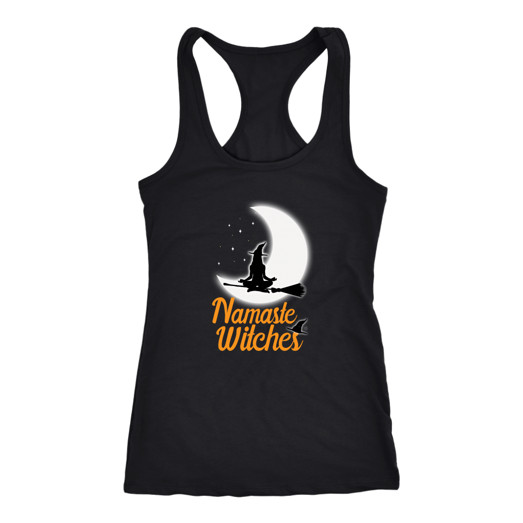 Yoga - Namaste Witches Halloween Tank Top