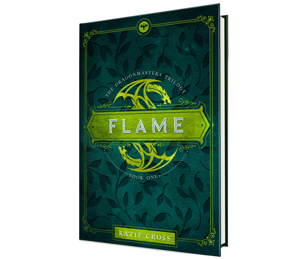 Katie Cross Writing Flame Book - SIGNED COPY!!