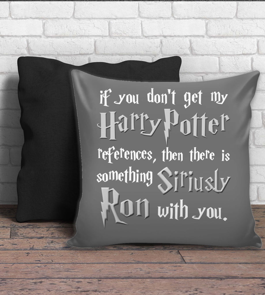 Harry Potter Siriusly Ron With You Zippered Pillow Cover - 18 x 18 inches