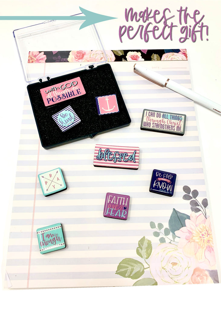 Inspirational Magnet Gift Set - 9 Piece