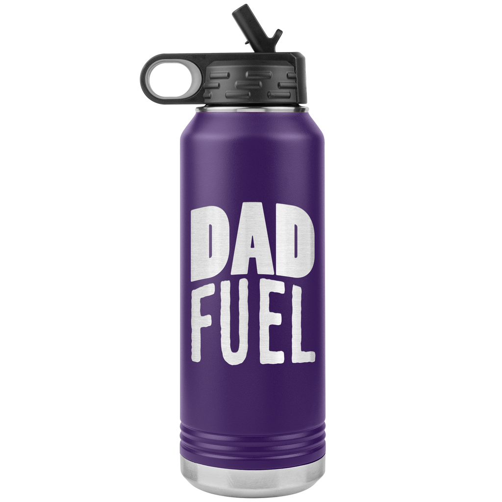DAD FUEL - 32oz Stainless Steel Water Bottle for COLLECTION