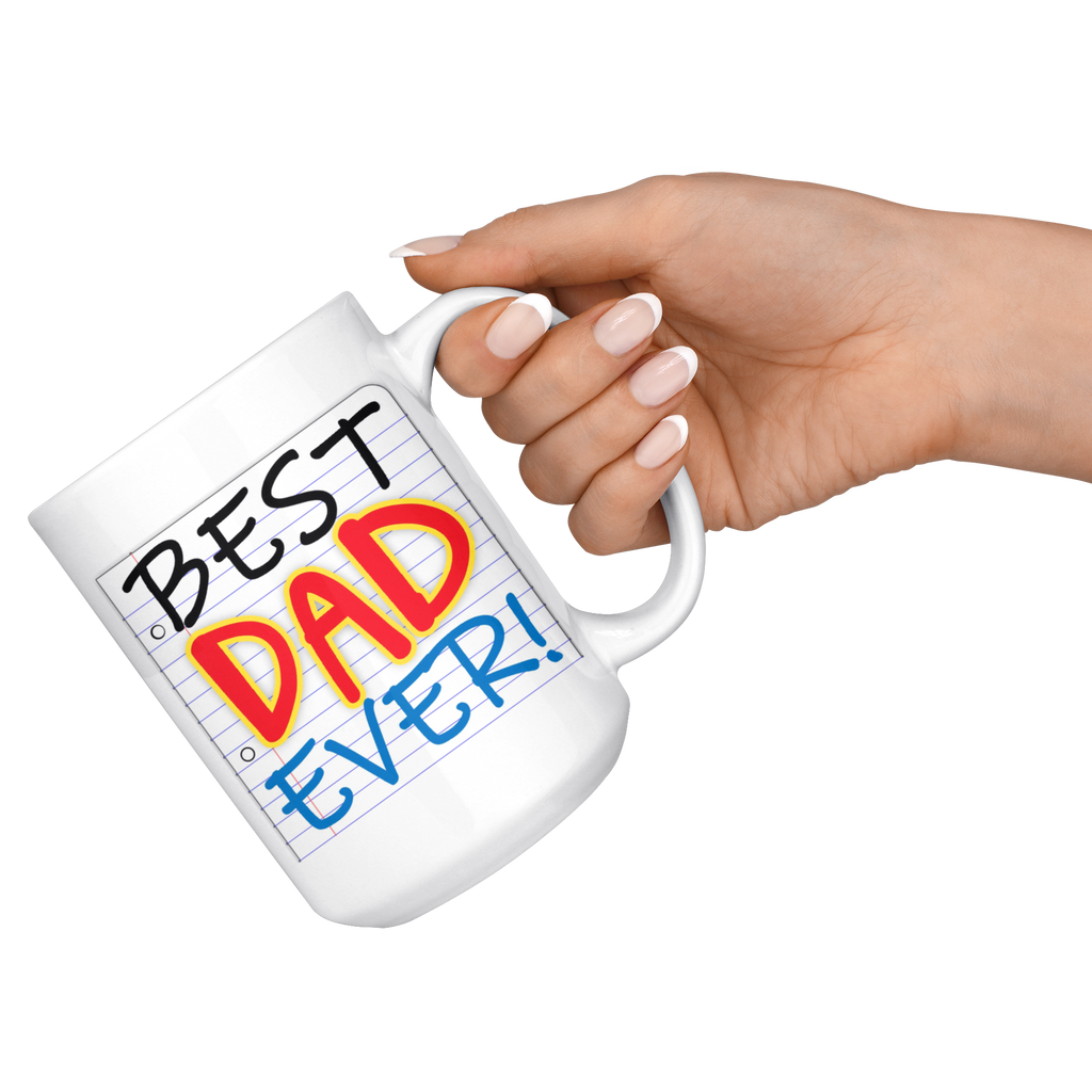 NEW!! Notes to Dad Coffee Mug Collection: Best Dad Ever