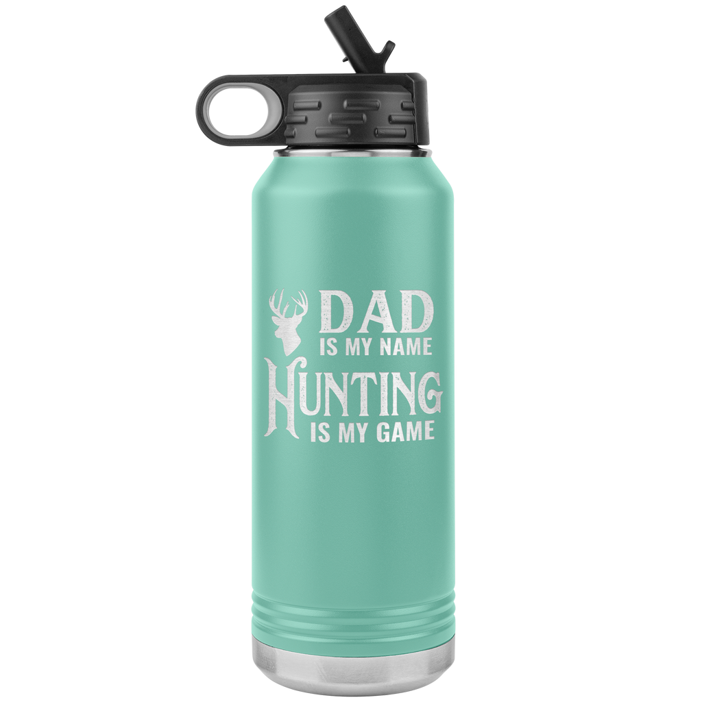 Dad Hunting - 32oz Stainless Steel Water Bottle for Dads