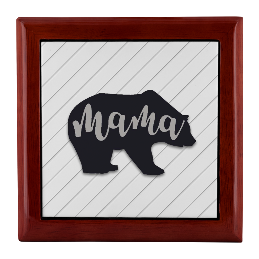 Mama Bear Jewelry Box