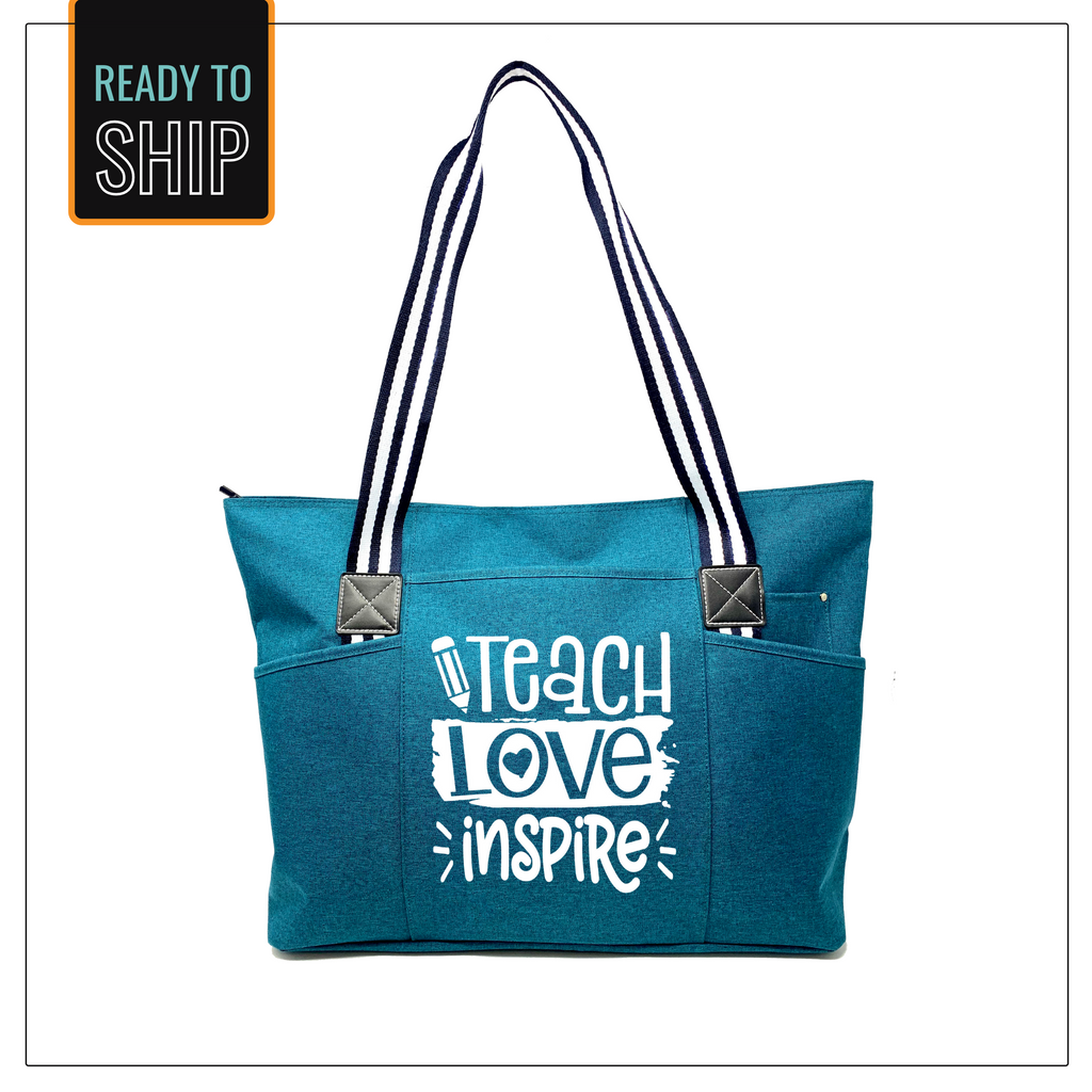Teach. Love. Inspire Tote Bag
