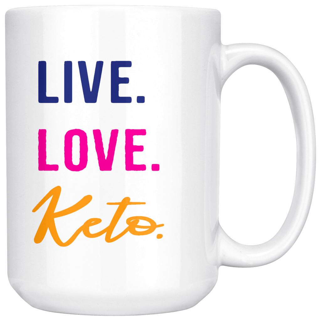 Keto Collection Coffee Mugs - Perfect gift