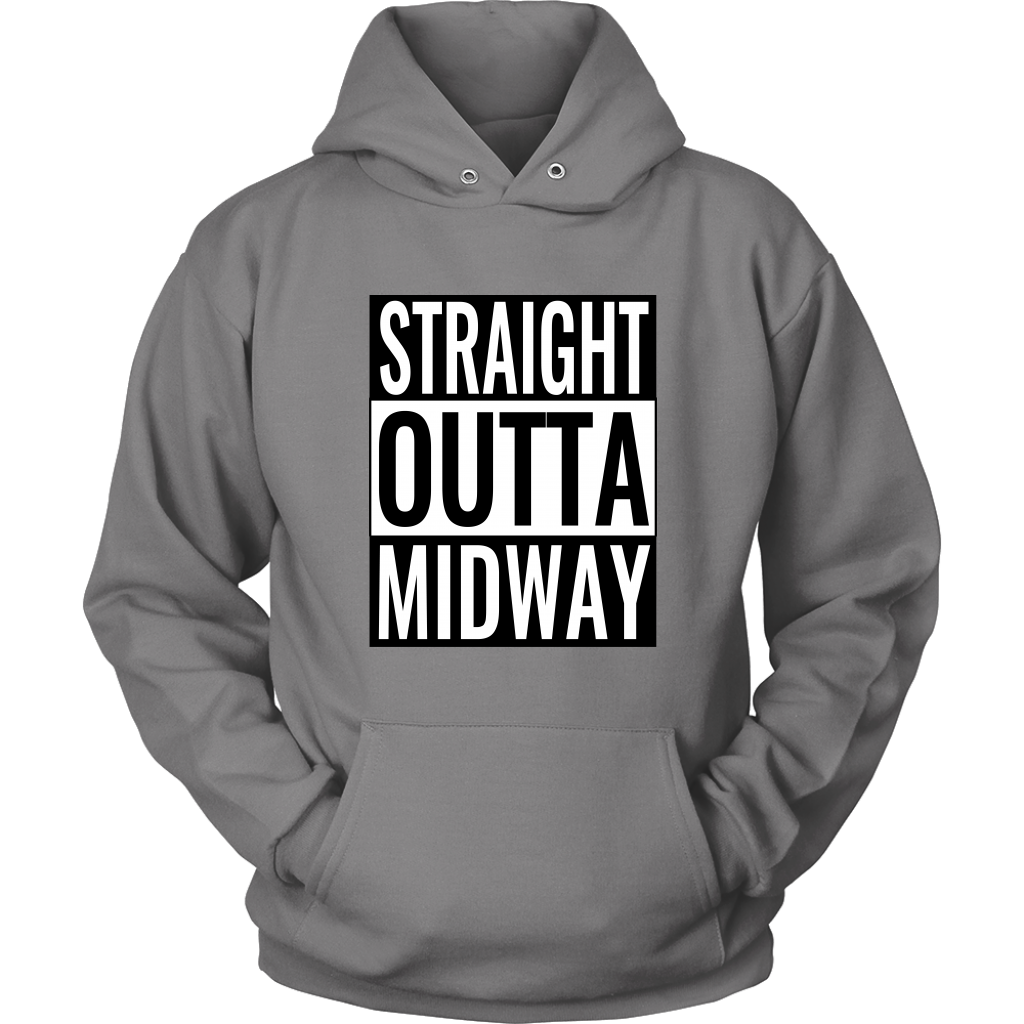 Straight Outta Midway High School Hoodie - Waco, Hewitt Texas