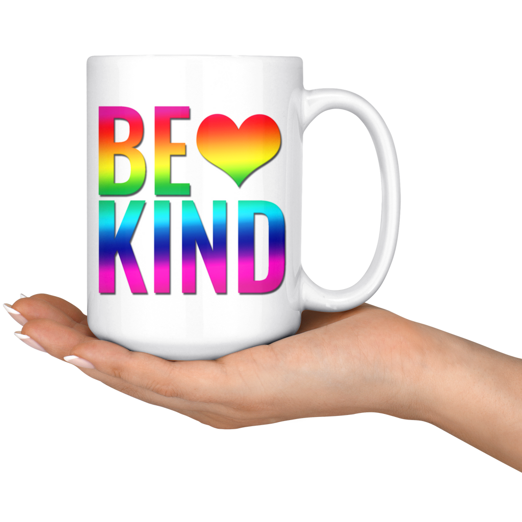 Rainbow Be Kind Coffee Mug