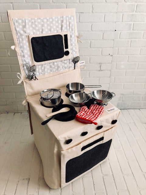 Popohver Deluxe Kitchen Stove & Cooking Set