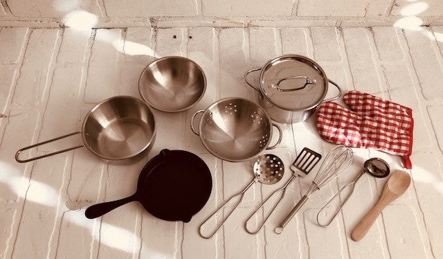 Popohver Pots & Pans Pretend Play Set