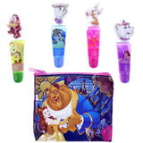 Disney Beauty & the Beast Belle Lip Gloss & Cosmetic Bag Set - Undead Inc Lip Gloss,