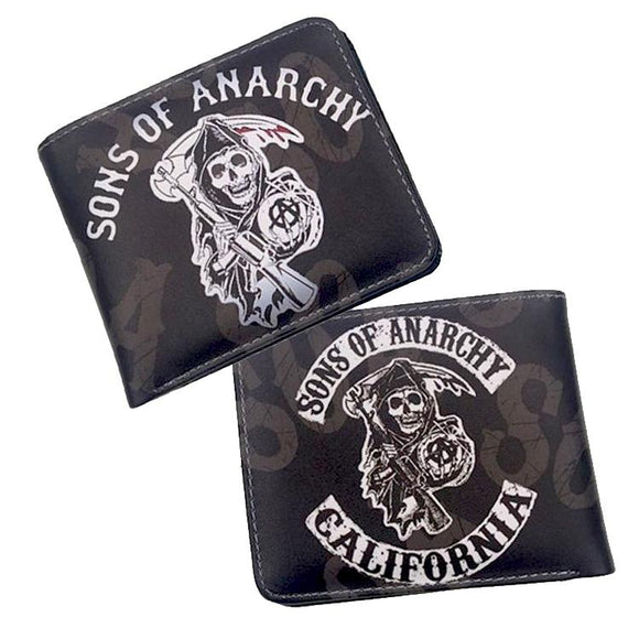Sons Of Anarchy Pu Leather Wallet