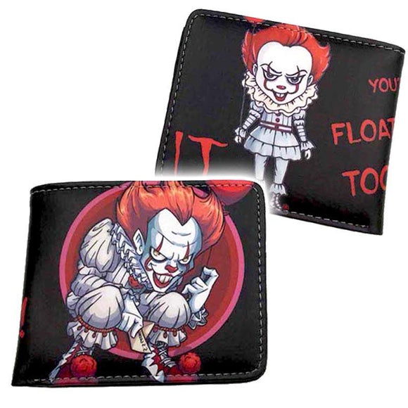 IT Pennywise Animated Pu Leather Wallet