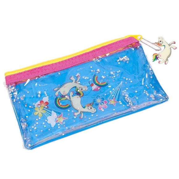 Flying Unicorn Liquid Cosmetics Bag - Undead Inc Cosmetics Bag,