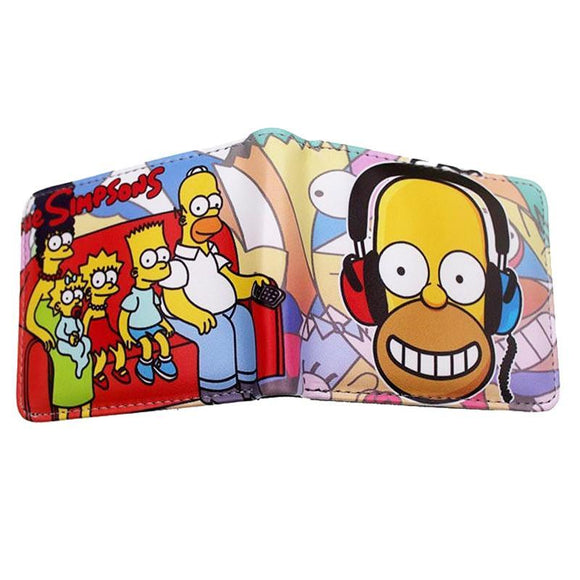 The Simpsons PU Leather Bifold Wallet