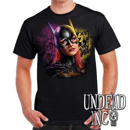 Batgirl - Mens T Shirt - Undead Inc Mens T-shirts,