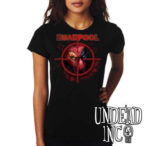 Deadpool - Ladies T Shirt - Undead Inc Ladies T-shirts,