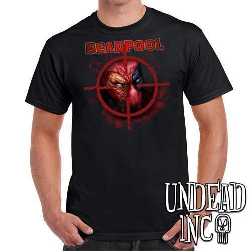 Deadpool - Mens T Shirt - Undead Inc Mens T-shirts,