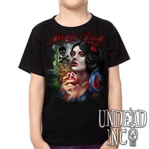 "Snow White Poison Apple ""Sleeping Death"" - Kids Unisex Girls and Boys T shirt Clothing"
