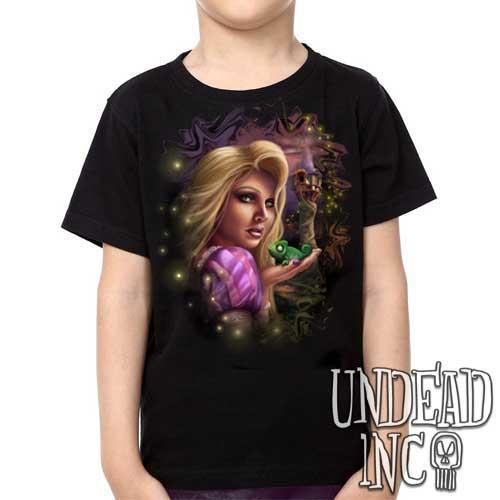 Tangled - Pascal Rapunzel  - Kids Unisex Girls and Boys T shirt Clothing