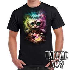 Tim Burton Cheshire Cat - Mens T Shirt