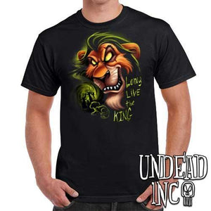"Villains Scar ""Long live the king"" Lion King - Mens T Shirt"