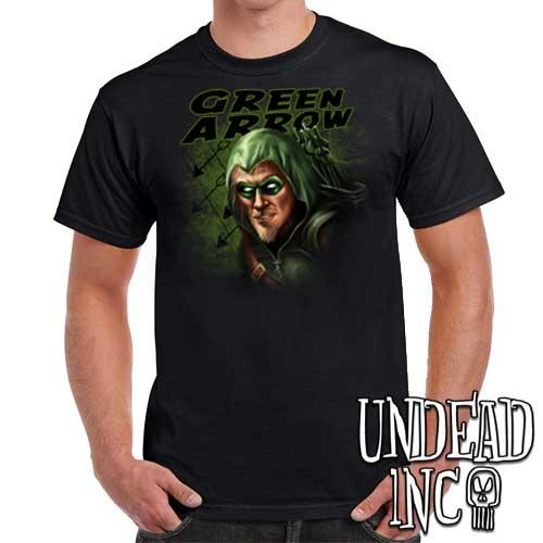 Green Arrow - Mens T Shirt - Undead Inc Mens T-shirts,