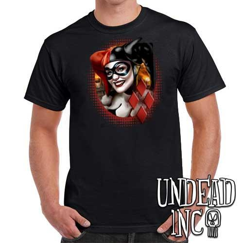 Harley Quinn - Mens T Shirt - Undead Inc Mens T-shirts,