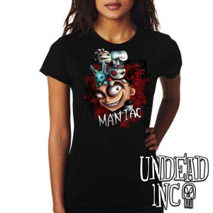 "JTHM ""Maniac"" - Ladies T Shirt"