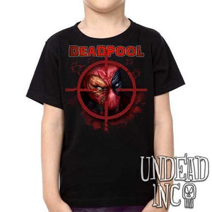 Marvel Comics Deadpool - Kids Unisex Girls and Boys T shirt Clothing