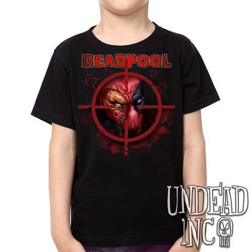 Marvel Comics Deadpool - Kids Unisex Girls and Boys T shirt Clothing Kids T-shirts Undead Inc