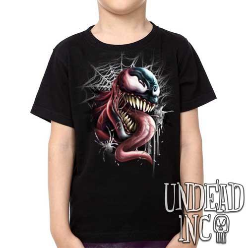 Marvel Comics Spider Man Venom - Kids Unisex Girls and Boys T shirt Clothing